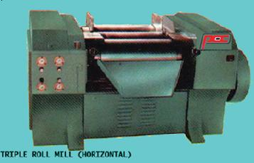 Triple-Roll-Mill